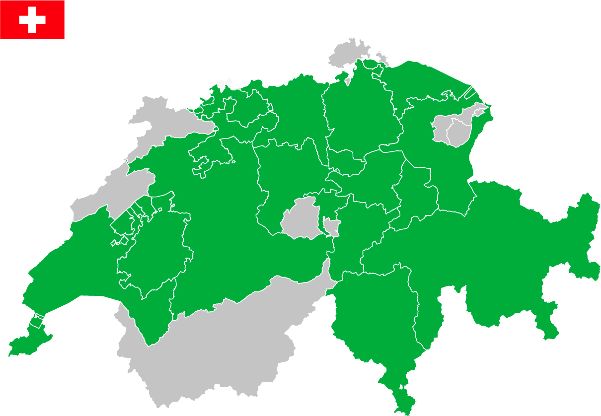 Map-zwitserlans